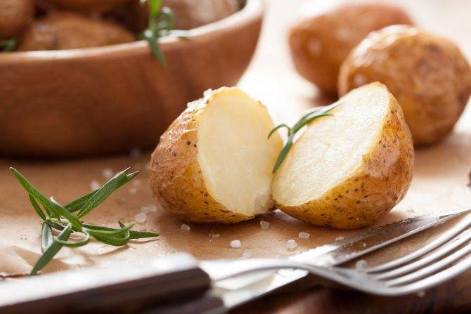 Калорийность картофель отварной. химический состав и пищевая ценность