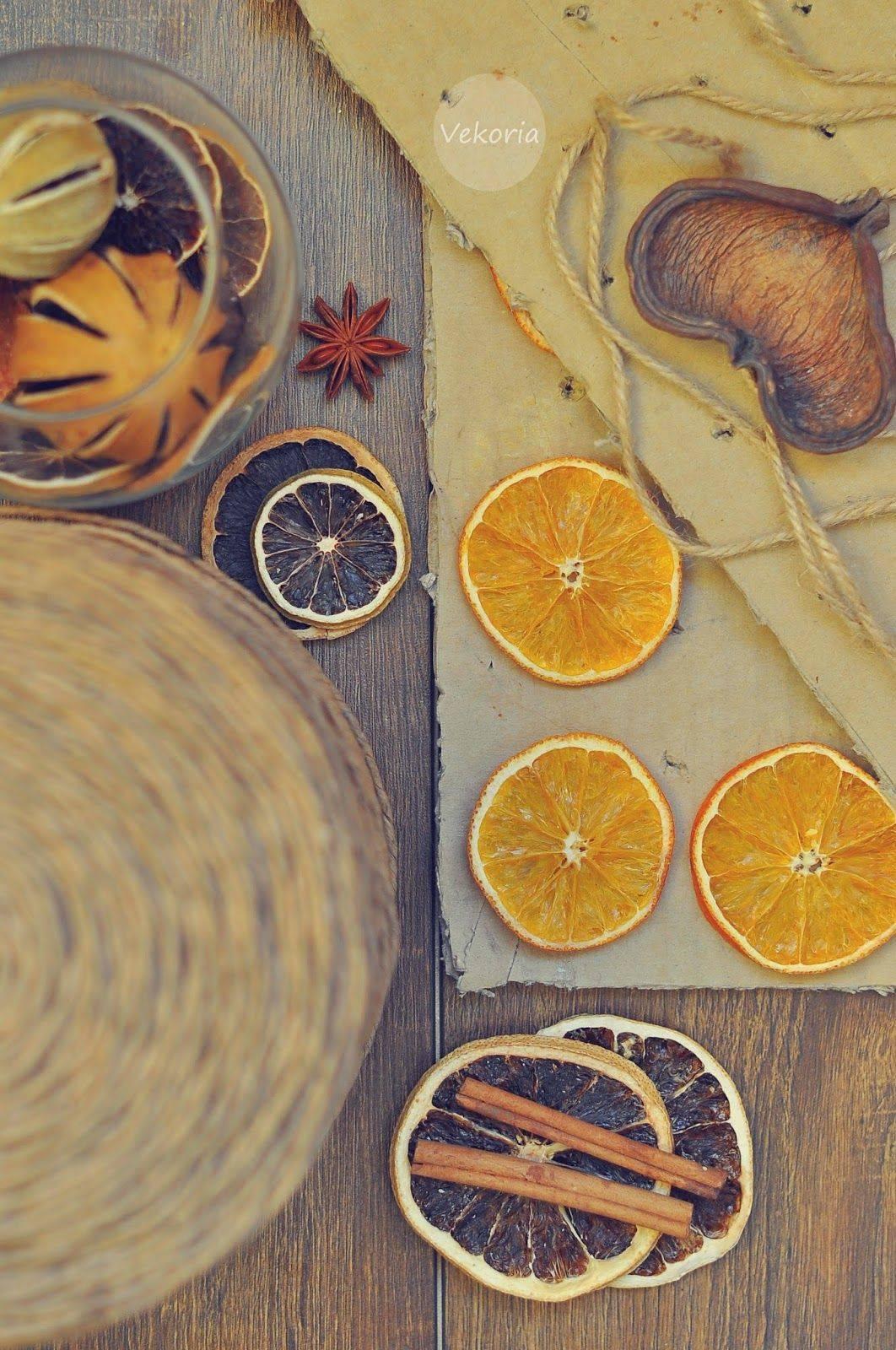 Классные способы сушки апельсинов для декора