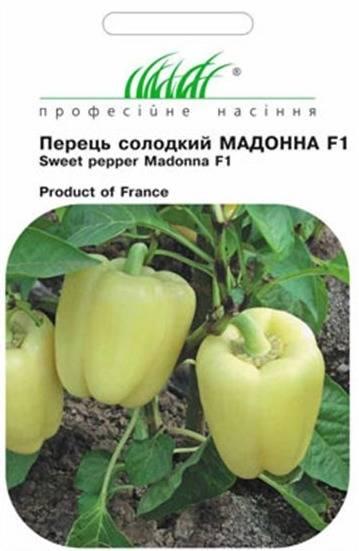 Описание перца Мадонна