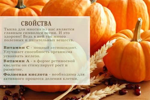 Калорийность сырой, вареной и запеченной тыквы, каш, блюд с тыквой на 100 грамм: значение