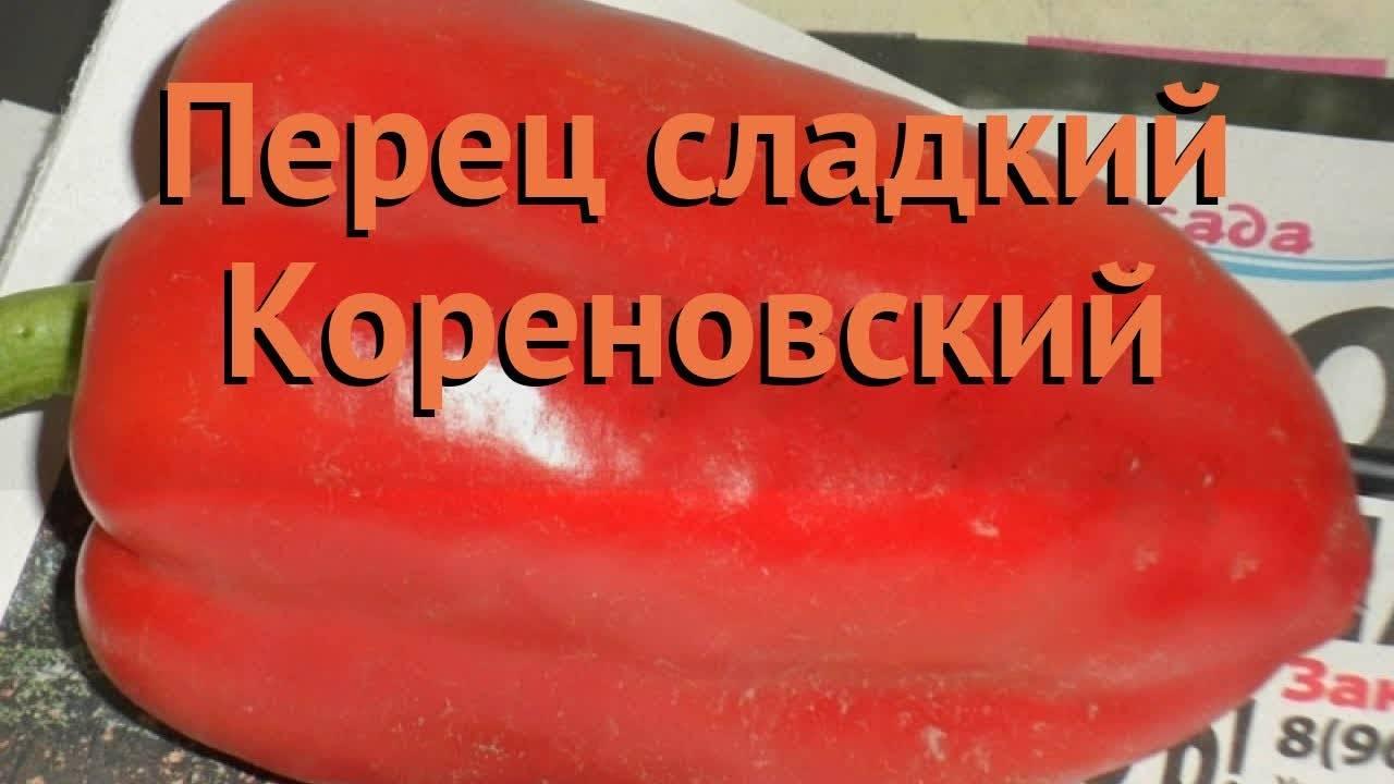 Перец лисичка — описание и характеристика сорта