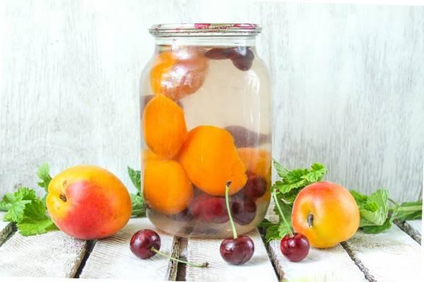Яблочный компот из яблок 3 литровая банка на зиму