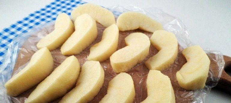 Как заморозить яблоки - моя живая еда