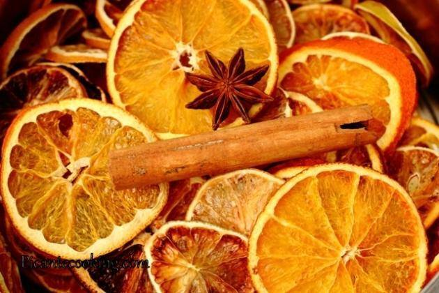 Как засушить апельсины для декора: 8 простых способов - в духовке, на батарее, в микроволновке
