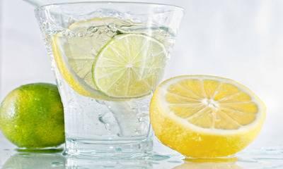 Калорийность воды с лимоном   здоровое питание