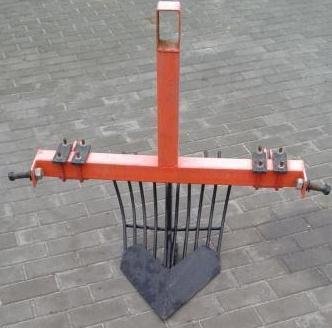 Картофелекопалка для мини-трактора: размеры транспортерных и веерных копалок. уборка картофеля однорядными и вибрационными моделями