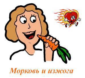 Свежая морковь от изжоги - медицинский портал: все о здоровье человека, клиники, болезни, врачи - medportal.md