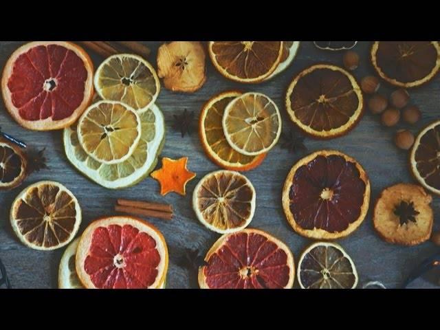 Как засушить апельсин для декора дома своими - инженер пто