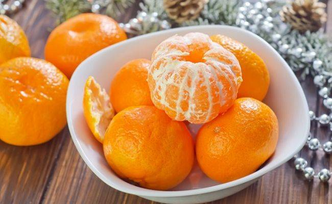 Мандарин польза и вред - витамины в корке мандарина