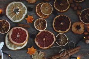 Как высушить апельсины для декора: в духовке, электросушилке или батарее