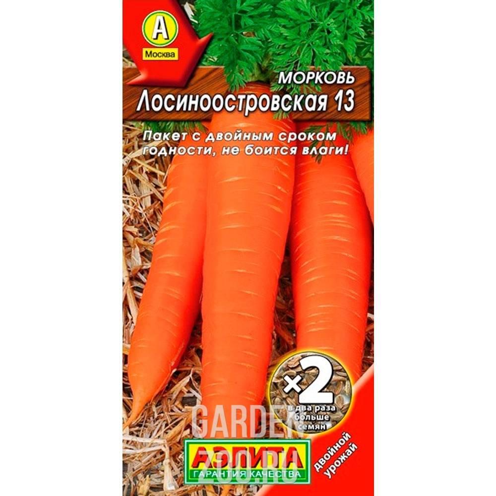 Морковь лосиноостровская 13: отзывы, выращивание, описание и характеристика + фото