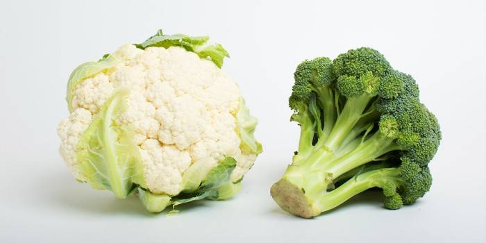 Брокколи и цветная капуста: отличия и сходства, состав, польза и вред, это одно и то же или нет, в чем разница
