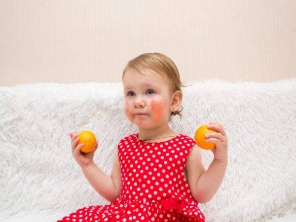 Аллергия на мандарины: первые признаки, диагностика, лечение
