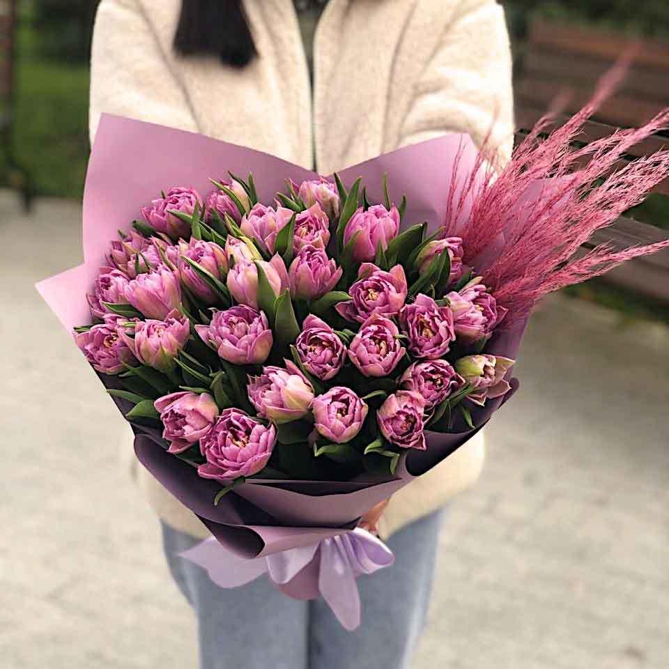 Пионовидные тюльпаны (35 фото): востребованные сорта с названиями, красные и белые разновидности цветов