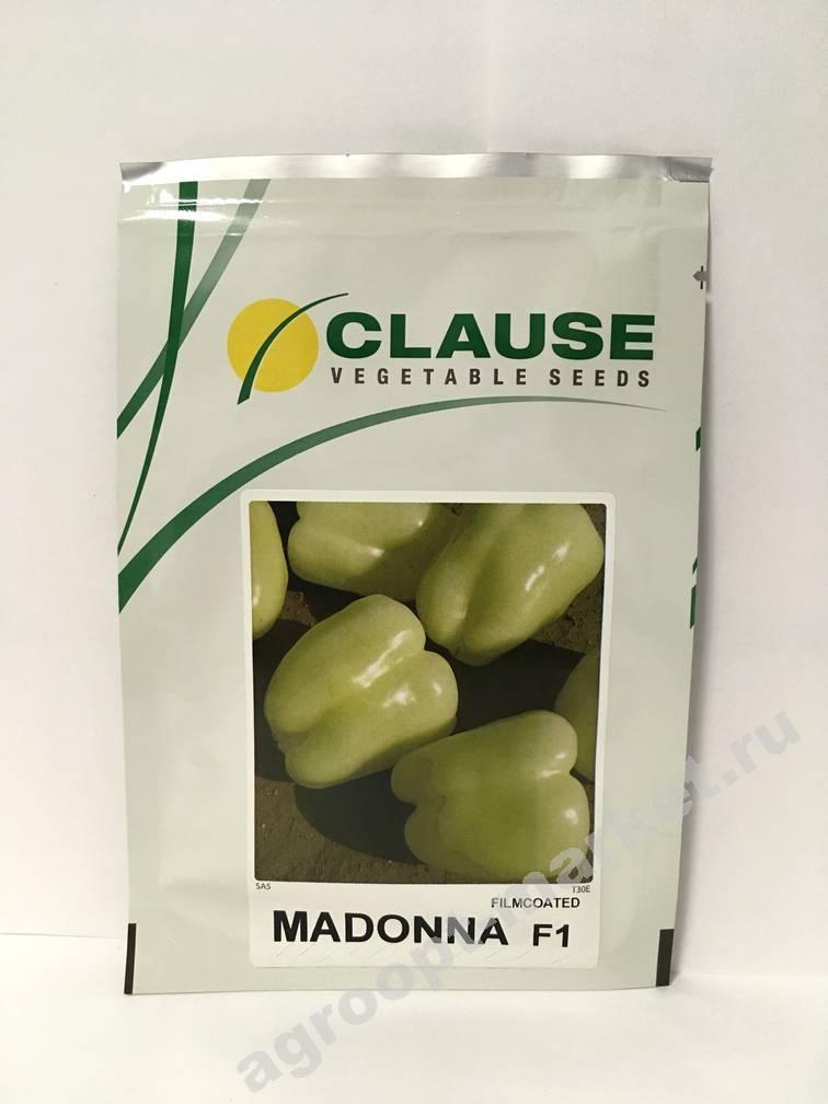 Перец мадонна f1: отзывы о выращивании, характеристика и описание сладкого сорта, фото семян от производителя
