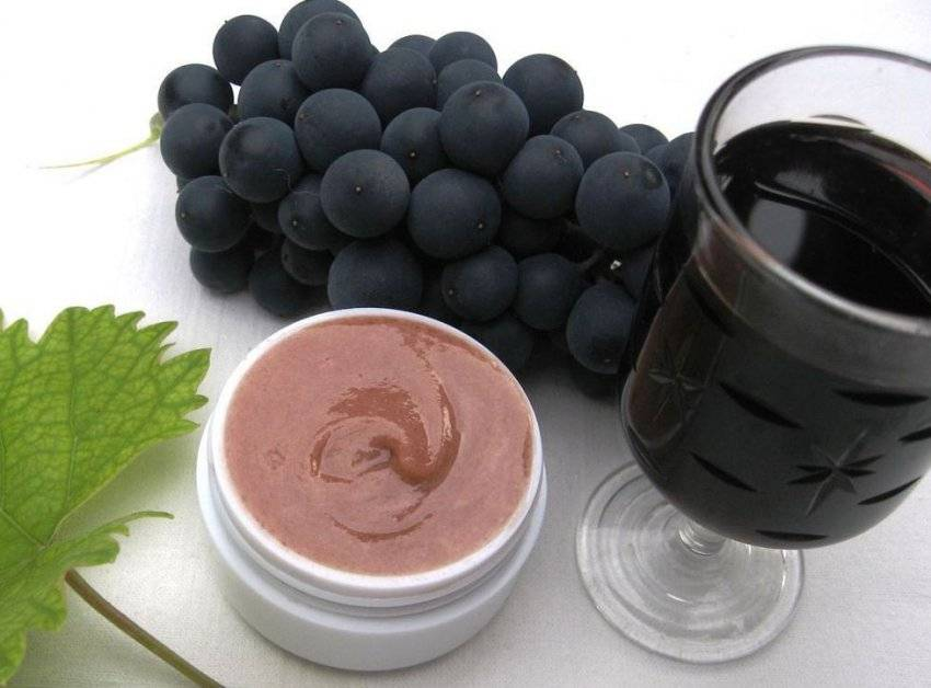 Какова калорийность черного винограда