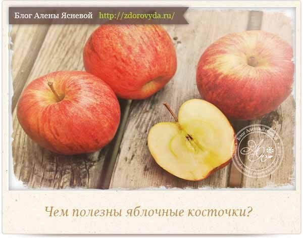 Ядовиты ли яблочные семечки? - опасная еда