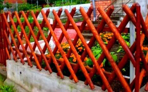 Забор для палисадника – как сделать просто - каталог статей на сайте - домстрой