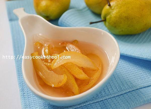 Варенье из груши дички: топ 5 простых рецептов приготовления на зиму