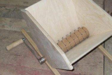Как сделать дробилку для винограда своими руками - умный дачник