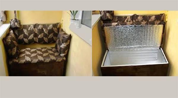 Как хранить картошку на балконе зимой: при какой температуре замерзает, до скольки градусов можно держать на лоджии осенью без подогрева