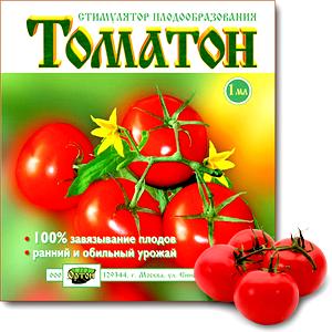 "Стимулятор плодообразования ""томатон"": богатый урожай обеспечен"