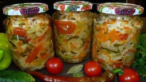 Салат донской на зиму – от классики до простоты: рецепт с фото и видео