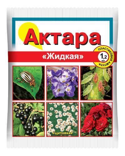 Препараты. инсектициды. актара - инструкция: применение, действие, меры безопасности, хранение
