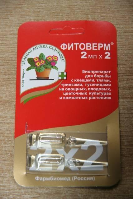 Фитоверм от паутинного клеща, инструкция по применению, как приготовить раствор