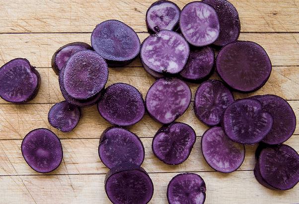 Фиолетовый картофель – концентрат здоровья