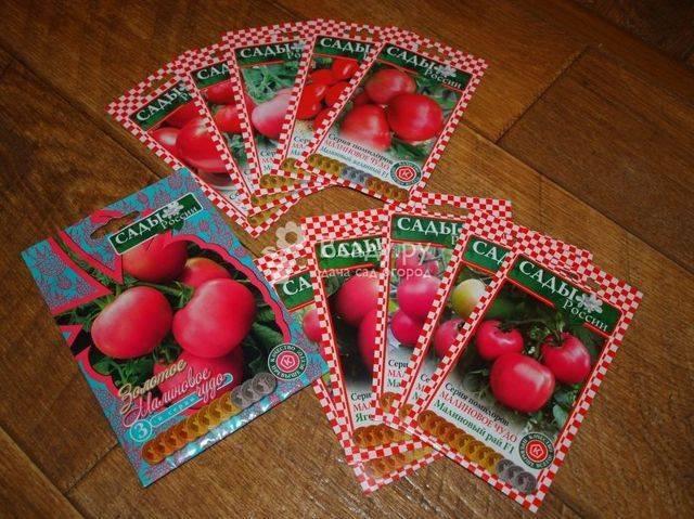 Помидоры малиновое чудо: описание сорта, отзывы, фото, урожайность | tomatland.ru
