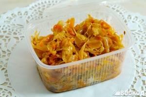 Сколько калорий в капусте тушеной, цветной, морской, квашеной на 100 грамм