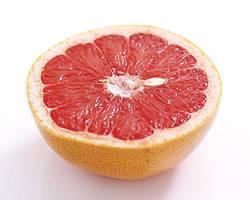 Полезные вещества в грейпфруте