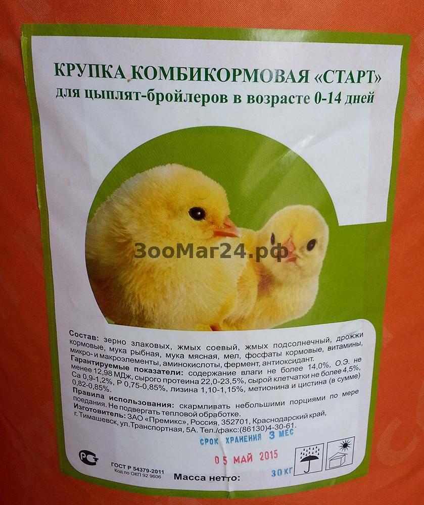 Состав комбикормов для цыплят, рецепт их приготовления и отзывы экспертов
