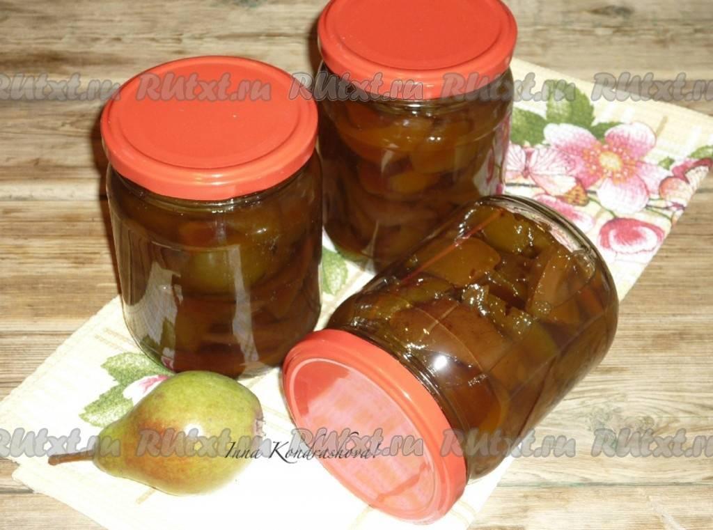 Варенье из груш дольками янтарное рецепт с фото пошагово - 1000.menu