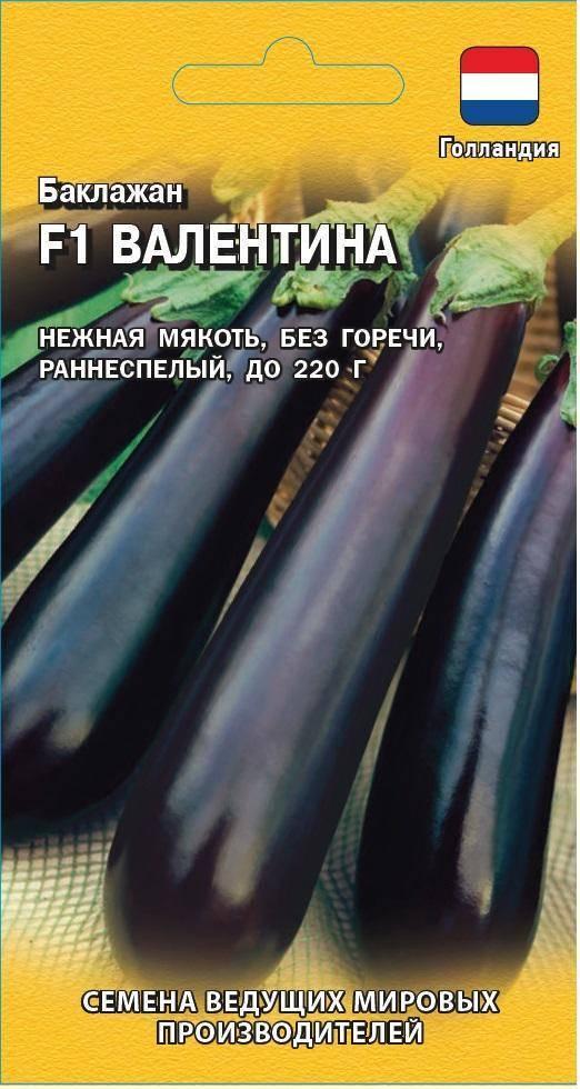 Баклажан валентина f1: отзывы, секреты агротехники, возможные трудности при выращивании