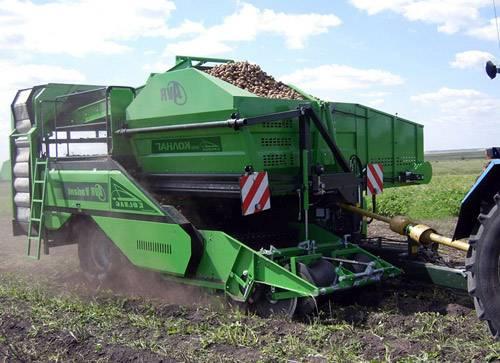 Комбайны для эффективной уборки картофеля — виды и особенности
