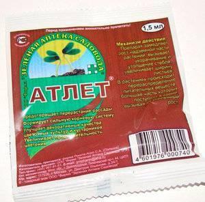 Применение Атлета для помидор