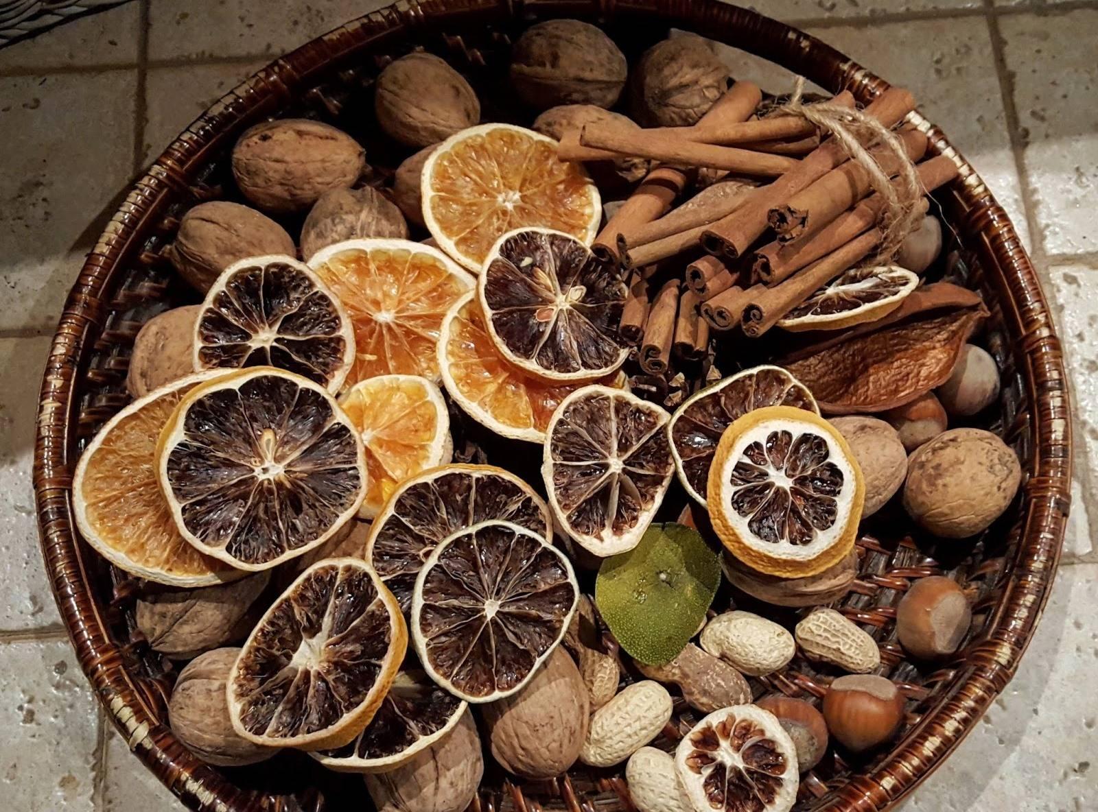 Как правильно сушить апельсины для декора