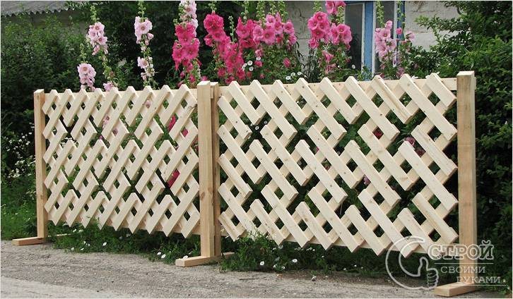 Как сделать красивый забор для полисадника своими руками