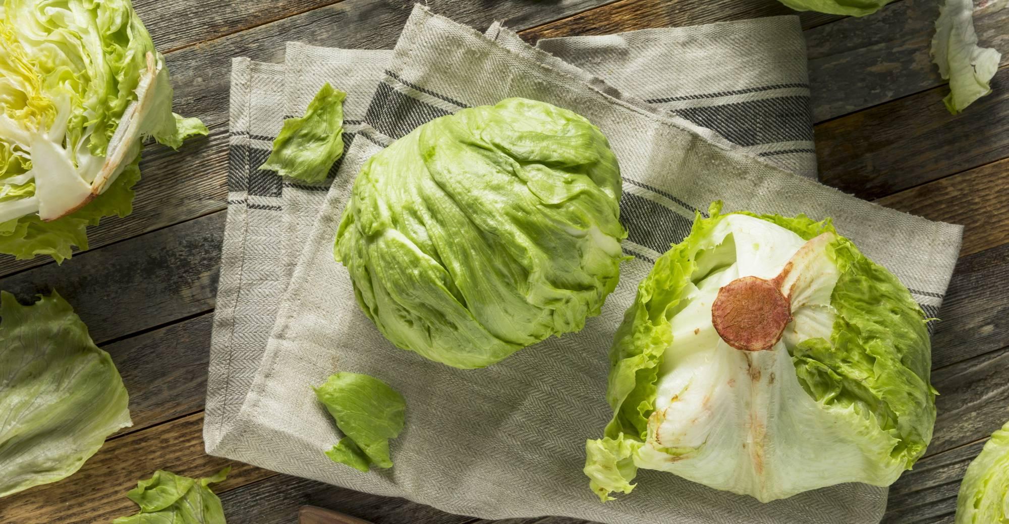 Салат айсберг: польза и вред для здоровья организма, калорийность, состав