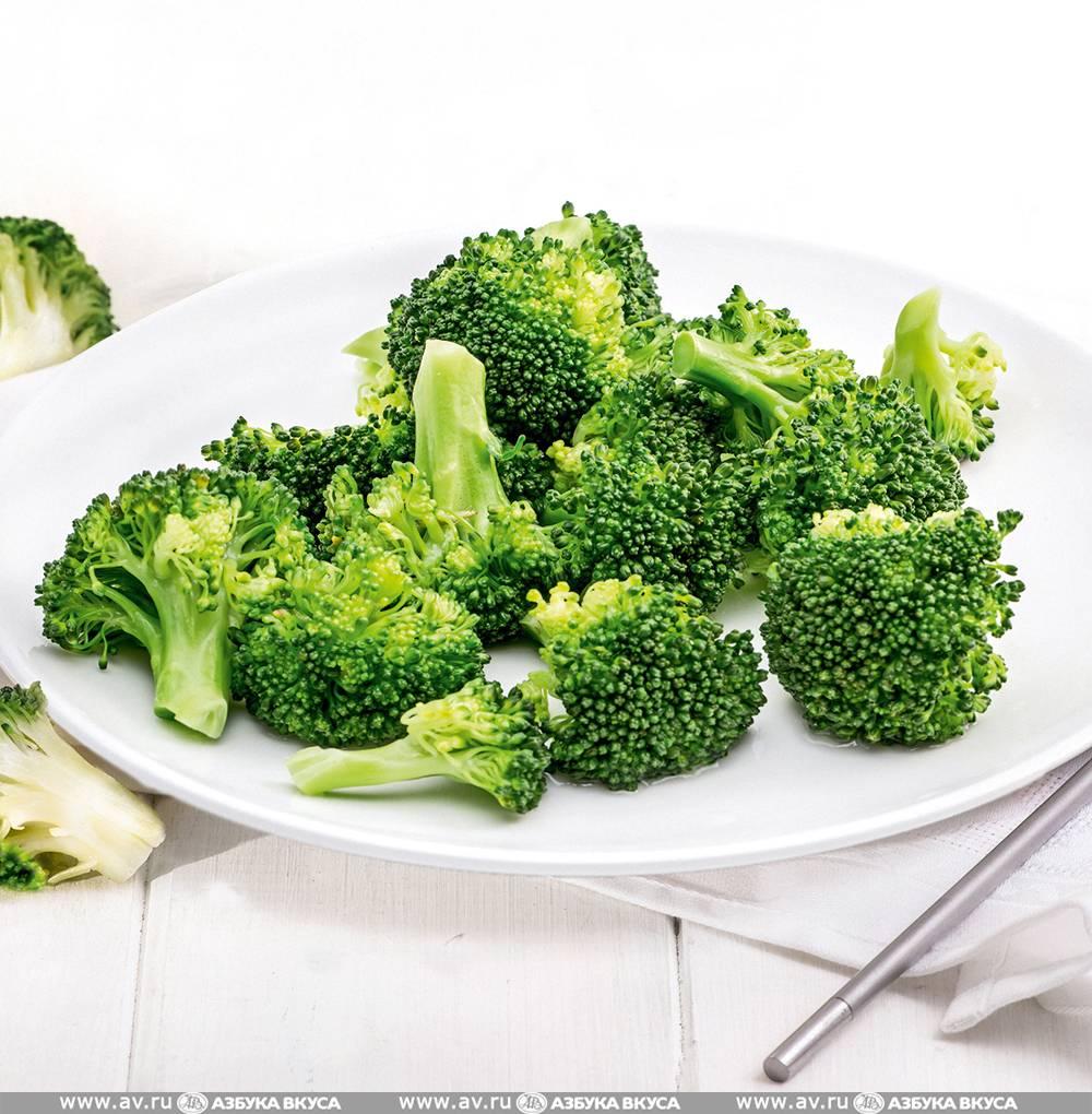 Состав брокколи: сколько калорий и бжу в 100 граммах вареной и жареной капусты, калорийность овоща, отварная и приготовленная на пару