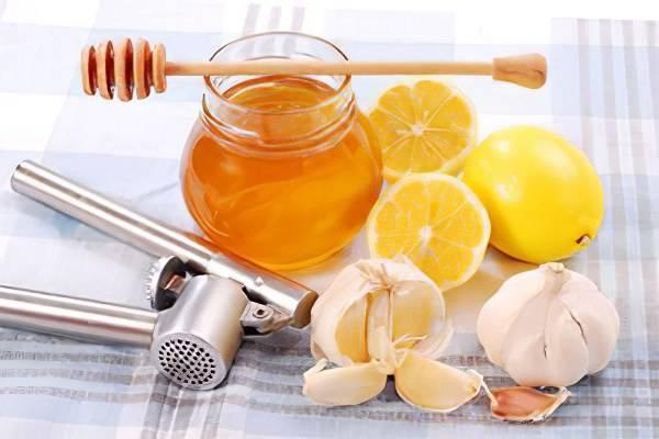Мед чеснок лимон от атеросклероза рецепт - про холестерин