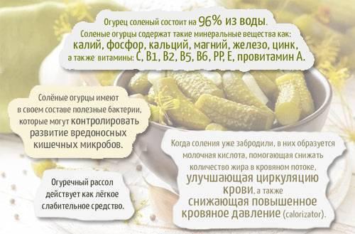 Калорийность огурца: сколько калорий в огурце свежем, соленом или маринованном