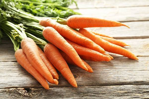 Желтая морковь — разновидности и описание