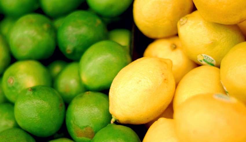 Как отличить лайм от незрелого лимона