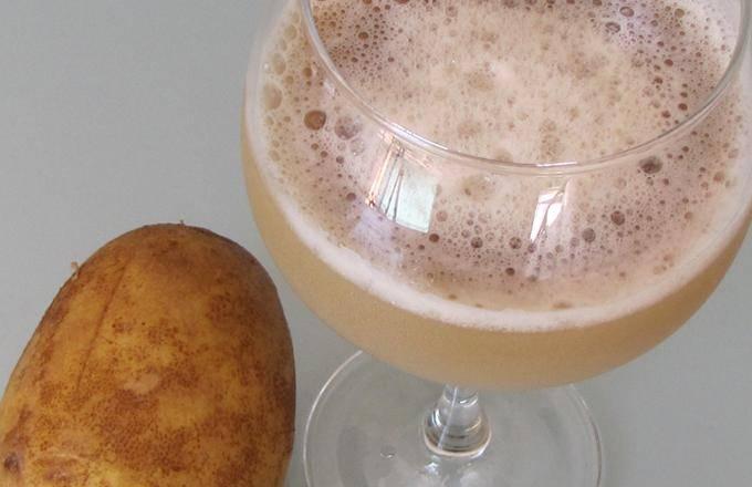 Чем полезен картофельный сок, и как его принимать