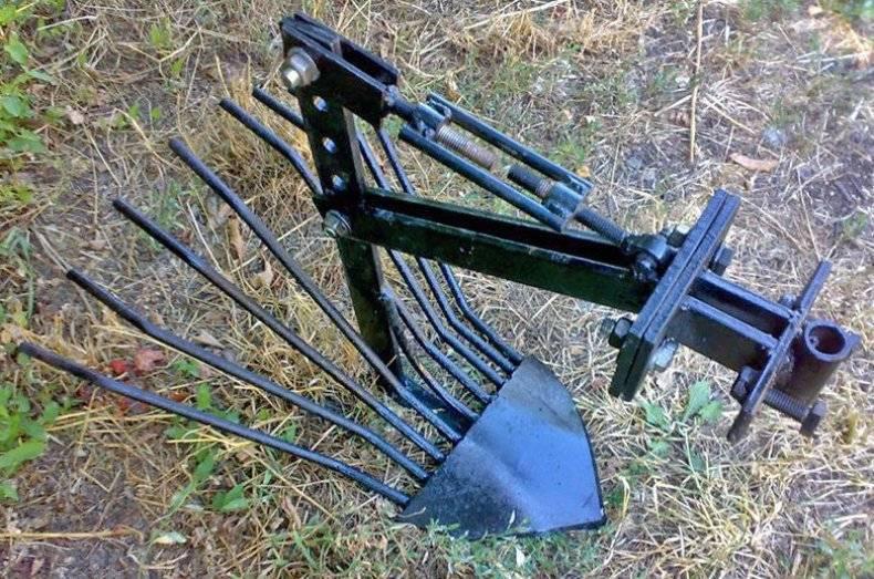 Чертеж грохотной картофелекопалки для мотоблока. картофелекопалка грохотного типа своими руками. этапы изготовления