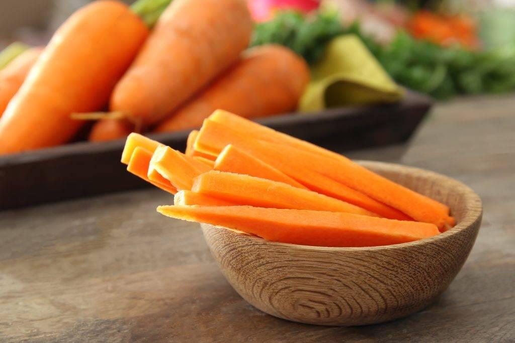 Употребление моркови в период беременности