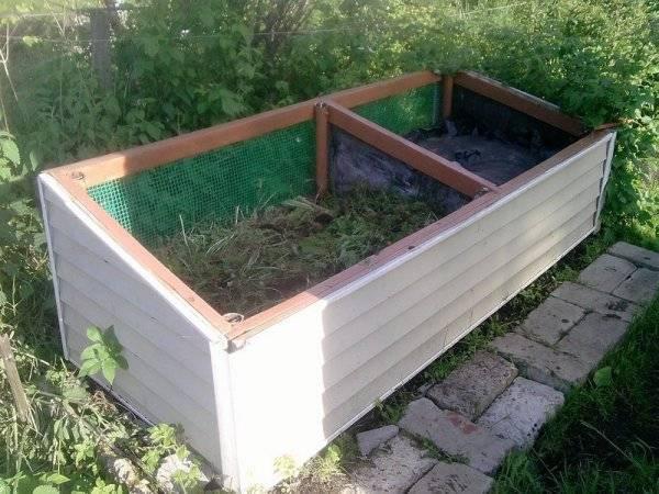 Компостная яма своими руками - виды компостных ям и нюансы самостоятельного изготовления. рекомендации специалистов и фото-примеры готовых ям